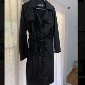 Faux leather jacket from express